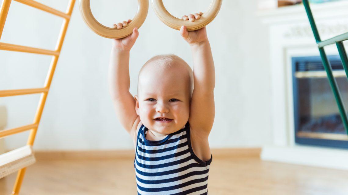 L'activité physique chez les nourrissons et les très jeunes enfants